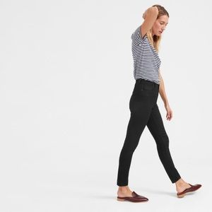 Everlane Black High Rise Skinny Jeans size 27